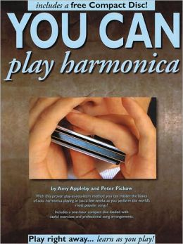 You Can Play Harmonica, with CD