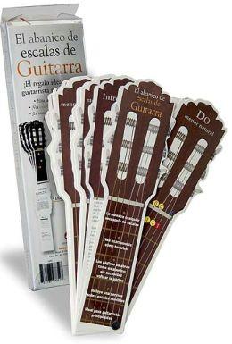 El abanico de escalas de Guitarra
