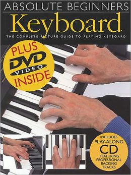 Absolute Beginner's Keyboard Book/CD/DVD