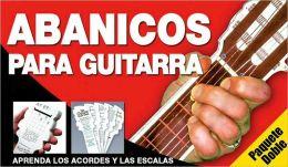 Paquete doble de abanicos para guitarra