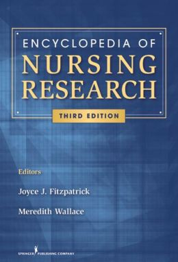 Encyclopedia of Nursing Research: Third Edition