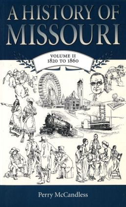 History of Missouri, 1820-1860