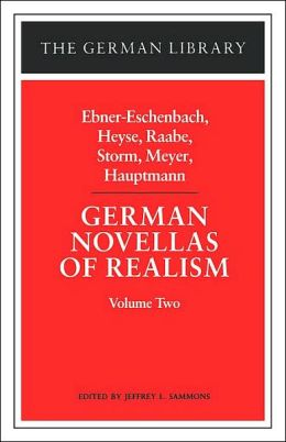 German Novellas Of Realism, Ii