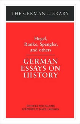 German Essays On History