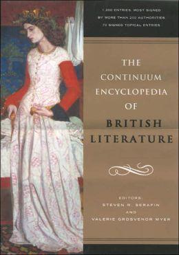 Continuum Encyclopedia of British Literature