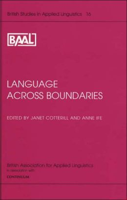 Language Across Boundaries
