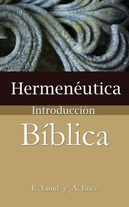Hermeneutica, Introduccion Biblica