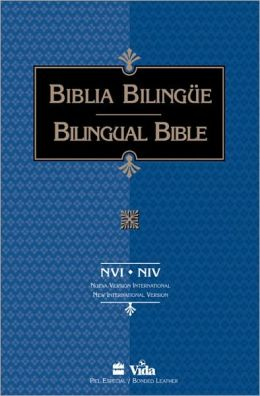 NVI/NIV Biblia Bilingue, rustica (Bilingual Bible)