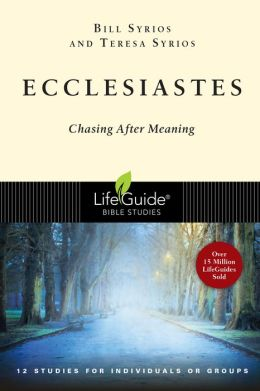 Ecclesiastes (A LifeGuide Bible Studies): Chasing After Meaning - 12 Studies for Individuals or Groups