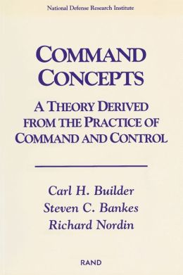 Command Concepts: A Theory Derived from the Practice of Command and Control