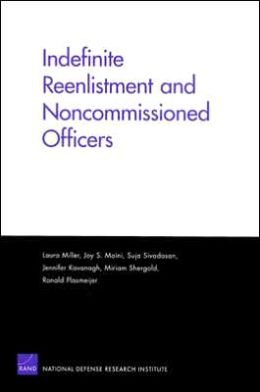 INDEFINITE REENLISTMENT AND NONCOMMISSIONED OFFICE
