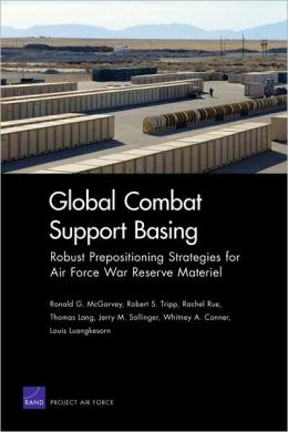 Global Combat Support: Robust Prepositioning Strategies for Air Force War Reserve Materiel