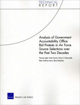 Analysis of Government Accountability Office Bid Protests in Air Force Source Selections over the Past Two Decades