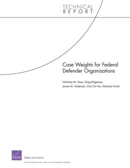 Case Weights for Federal Defender Organizations