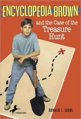 Encyclopedia Brown and the Case of the Treasure Hunt (Encyclopedia Brown Series #17) (Turtleback School & Library Binding Edition)