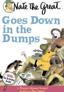 Nate the Great Goes Down in the Dumps (Turtleback School & Library Binding Edition)