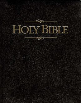 Holy Bible, Giant Print Presentation Edition: King James ... Holy Bible Side Cover