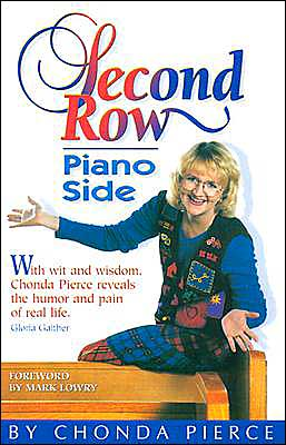 Second row, Piano Side: With Humor, Heartache, and Hope, Chonda Pierce Tells her Story