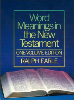 Word Meanings in the New Testament, One-Volume Edition (6 vols)