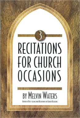 Recitations for Church Occasions