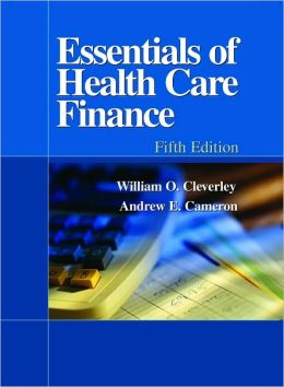 Essentials of Health Care Finance 5e