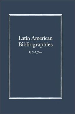 A Bibliography of Latin American Bibliographies