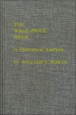 The Wage-Price Issue: A Theoretical Analysis