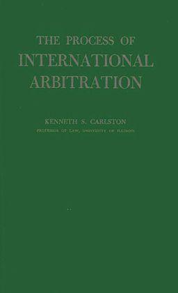 The Process of International Arbitration