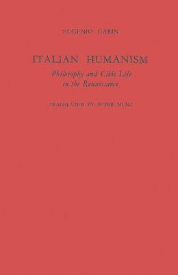 Italian Humanism