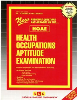 Health Occupations Aptitude Examination (HOAE)
