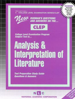 Analysis and Interpretation of Literature