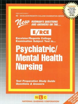 Psychiatric-Mental Health Nursing