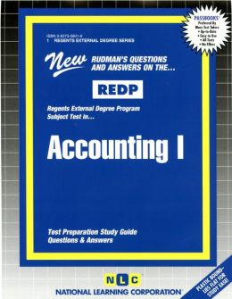 Accounting I: Rudman's Questions and Answers on the... Redp