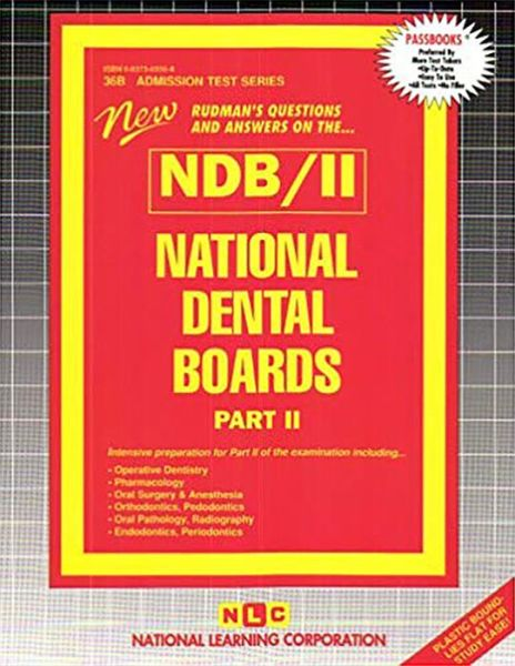 Rudman's Questions and Answers on the NDB/II: National Dental Boards, Part II