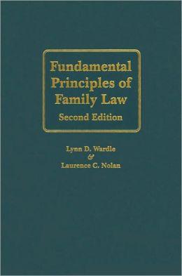 Fundamental Principles of Family Law
