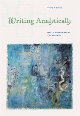 Writing Analytically (with InfoTrac)