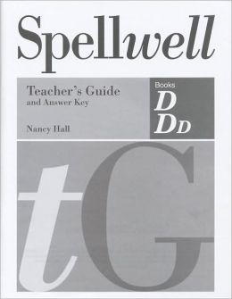 Spellwell DDD Teachers Guide Answer Key