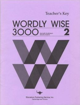 Wordly Wise 3000 : Book 2 : Teacher's Key
