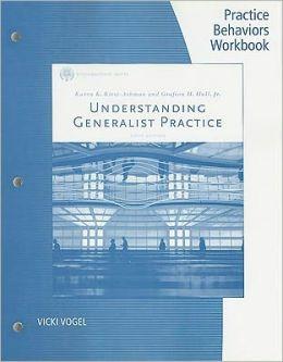 Understanding Generalist Practice: Practice Behaviors Workbook