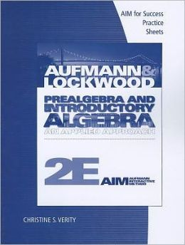 Prealgebra and Introductory Algebra: An Applied Approach