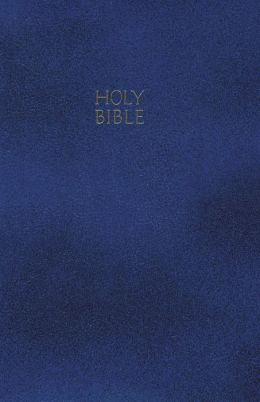 NKJV Gift and Award Bible: New King James Version, Imitation Navy Blue Leatherflex