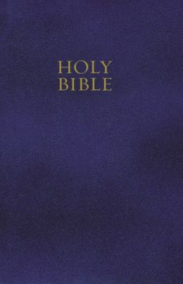 King James Gift & Award Bible, KJV: Navy Blue, Leatherflex