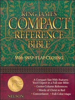 King James Compact Reference Bible: With Snap-Flap Closing