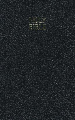 KJV Vest Pocket New Testament: King James Version, black imitation leather, words of Christ in red