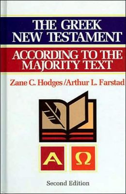 The Greek New Testament According to the Majority Text with Apparatus: Second Edition
