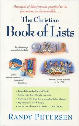 The Christian Book of Lists