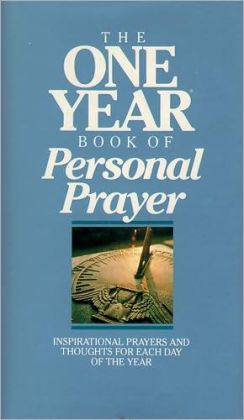 One Year Book of Personal Prayer