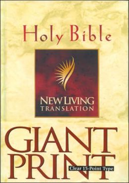 NLT Giant Print Bible: New Living Translation