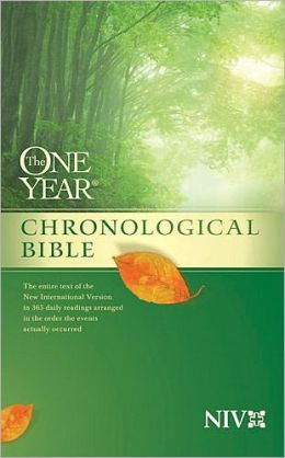 The One Year Chronological Bible: New International Version (NIV)