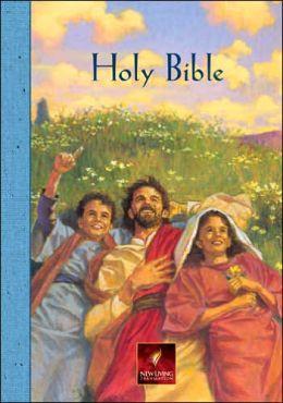 Children's Bible, Personal Edition: New Living Translation (NLT), blue hardcover